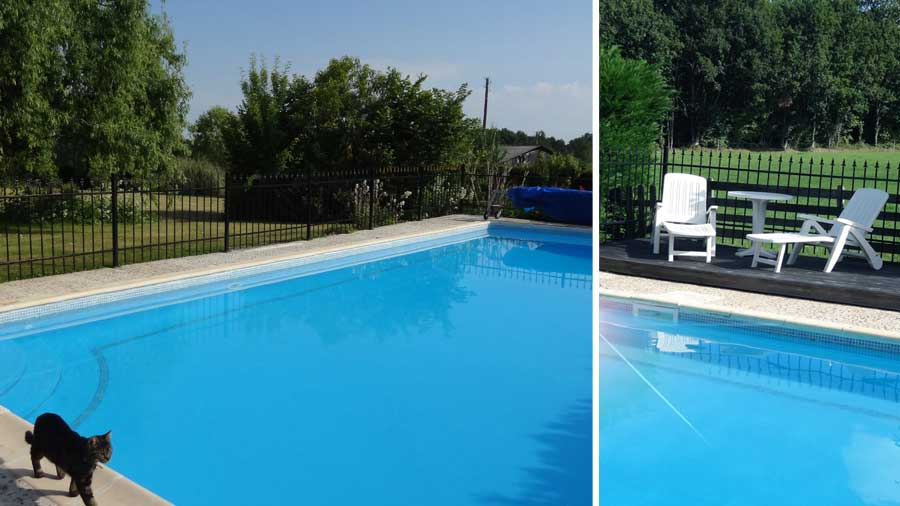 Self Catering Family Holiday Cottage Dordogne France Chauffour Gites